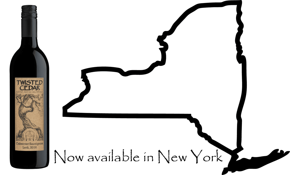 Twisted Cedar is now available in New York